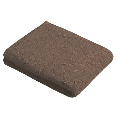 Vossen 1160650677 New Generation Duschtuch, Größe: 67 x 140 cm, cocoa
