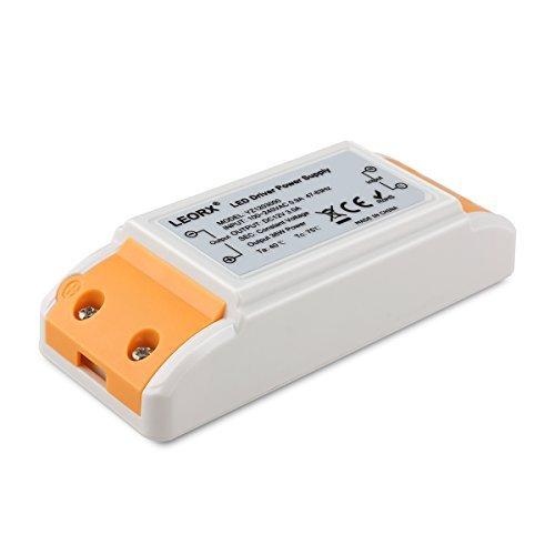 LEORX LED-TRAFO 12V DC, 36W max. 3A, stabilisierte Spannungsquelle für LED Lampen, Ideal für LED Lichtstreifen, sowie für G4, MR11 und MR16 LED Lampen