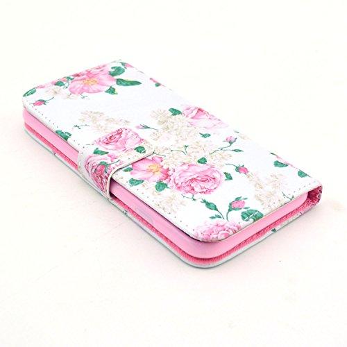 """MOONCASE iPhone 6 Case Motif Conception Coque en Cuir Portefeuille Housse de Protection Étui à rabat Case pour iPhone 6 (4.7"""") P10"""