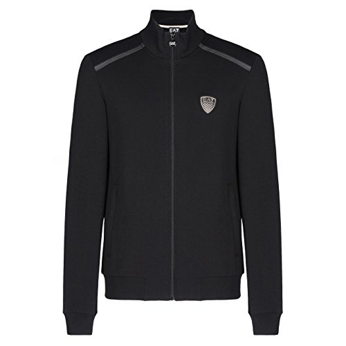 Emporio Armani EA7 Herren Jumpsuit fashion Anzug Sweatshirt Schwarz EU M (UK 38) 6XPM95 PJ19Z 1200