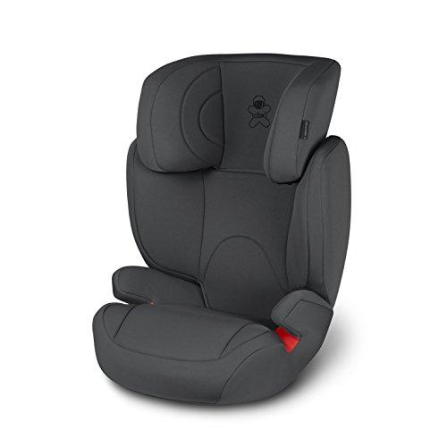 cbx Kinder-Autositz Solution 2, Gruppe 2/3 (15-36 kg), Ab ca. 3 bis ca. 12 Jahre, Ohne ISOFIX, Comfy Grey