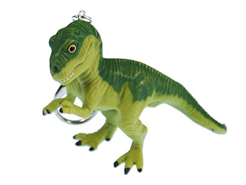 T-REX llavero miniblings Tyrannosaurus Dino dinosaurio verde xl
