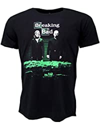 Breaking Bad Container Stash T-shirt Black Official Licensed TV