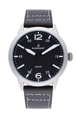 Radiant harald orologio Uomo Analogico al Al quarzo con cinturino in Pelle di vitello RA504601