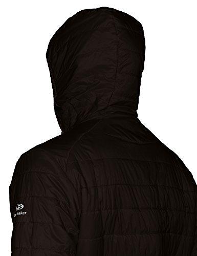 Icebreaker Hyperia Hooded Jacket Men - Thermojacke schwarz