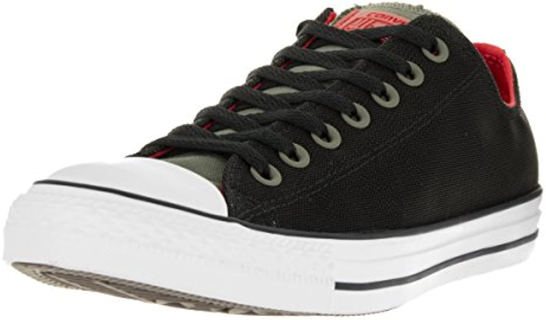 Converse 153970C Chuck Unisex Sneaker Ox Fatigue Green/Black/Red