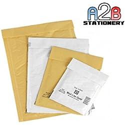 10 grands Taille K/7-Blanc 100 x Enveloppes à bulles Mail Lite-Globe-Sac à bulles auto-adhésives - 350 x 470 mm - 35 x 47 cm Sealed Air Emballage postale d'expédition envoi d'affranchissement automatique joint de protection rembourrées pour l'emballage