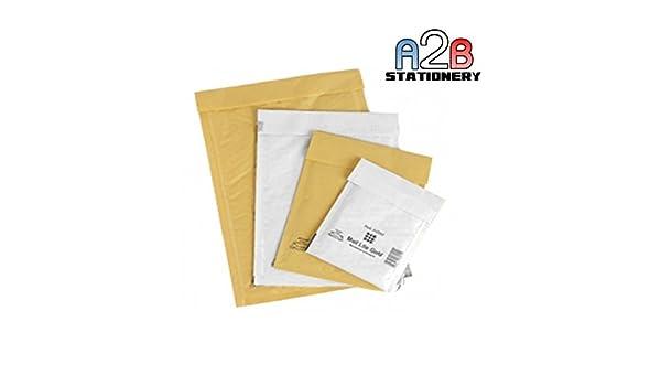 Transport & Logistik Gepolsterte Umschläge B/2 gold Luftpolsterumschläge 120 x 210 mm 200 Mail Lite Luftpolstertaschen Gr