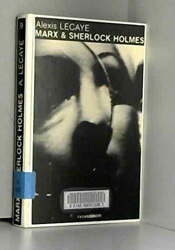 Marx et Sherlock Holmes (Fayard-noir)