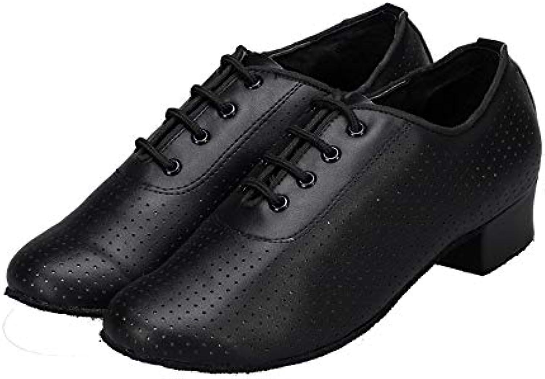 996930ad5cb QXH Shoe Shop Women s Sandals Dancing Shoes Banquet Banquet Banquet  Ballroom Dance Leather Mid Heel Shoes B07GFYWXP8 Parent 6eaa33