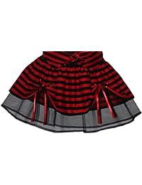 Plus Size Hen Party Mini Tutu Minx Red Black Striped Comic Fancy Dress UK