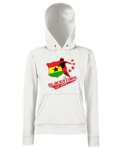 T-Shirtshock - Sweats a capuche Femme WC0148 GHANA Blanc