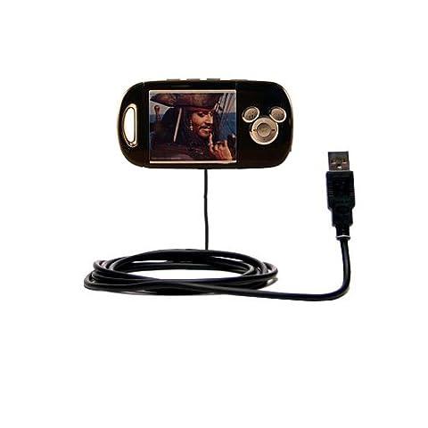 Hot Sync und Straight USB-Ladekabel für Disney Pirates of the Caribbean Mix Stick MP3 Player DS17033 Mit TipExchange Technologie ausgerüstet
