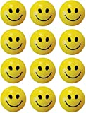 #5: Smiley Ball - 3 inch (Yellow) Pack of 12