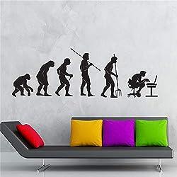 Bricolage papier peint Sticker Gamer Evolution Jeu Vidéo Jeu de Enfants Vinyle Autocollants Art Mural Décor À La Maison Stickers Muraux 34x100 cm