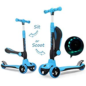 fascol 2 in 1 kinder roller kinderscooter kleinkinder. Black Bedroom Furniture Sets. Home Design Ideas