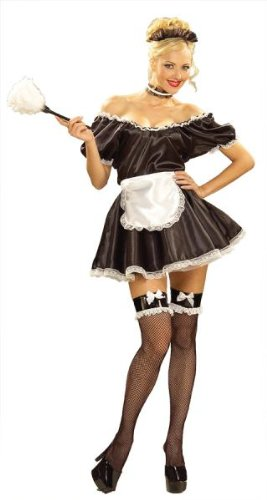Fifi The French Maid (Erwachsenen Fifi Kostüme)