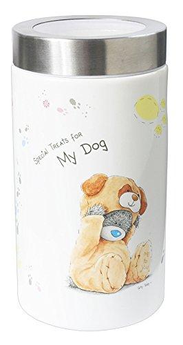 Aufbewahrungsbehälter für Hundeleckerlis, Aufruck: