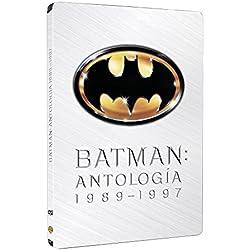 Batman, Batman Vuelve, Batman Forever, Batman And Robin - Pack 4 Discos Steelbook [DVD]