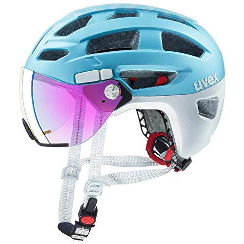 Uvex Finale Visor City Trekking Fahrrad Helm blau 2019: Größe: 52-57cm