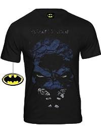 Batman Rétro Comic T-Shirt Gotham S Guardian Noir Taille L