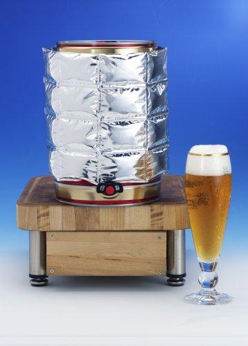 Bierfass Kühlmanschette für 5 Liter Partyfass Partydose 2-er Set