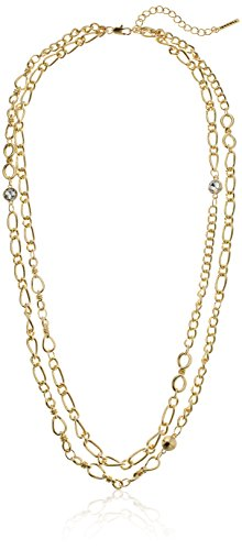 t-tahari-double-strand-gold-chain-necklace