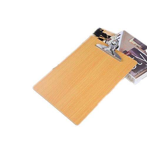 ze Clipboard 3mm-thick Profile Clip Hardboard für Arbeit Büro ()