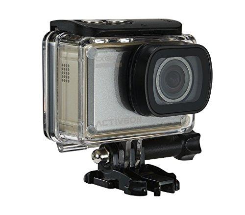 ACTIVEON gcb10W GX Plus Macchina fotografica di azione, 14Mega Pixel Oro/Nero