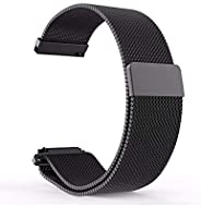 Milanese Loop 20mm for Samsung Galaxy Watch 42mm, Samsung Galaxy Watch Active, Samsung Gear Sport, Samsung Gea