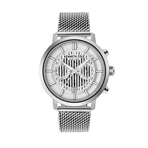 Kenneth Cole New York Reloj de Hombre Reloj de Pulsera Acero Inoxidable kc50572001