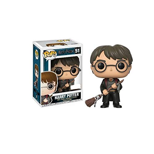 Figura Pop Harry Potter Harry with Firebolt & Feather Exclusive 4