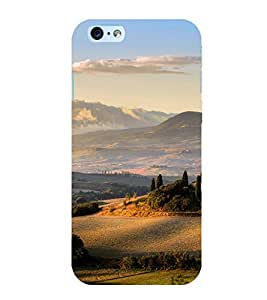 Printtech Designer Printed Nature View Mountain Back Cover for Apple iphone 6 / iphone 6s With Shockproof Technology