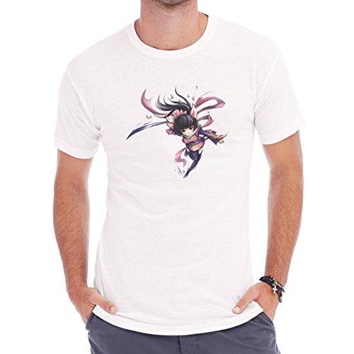 Speedy Ninja Ari Dance Run Herren T-Shirt Weiß
