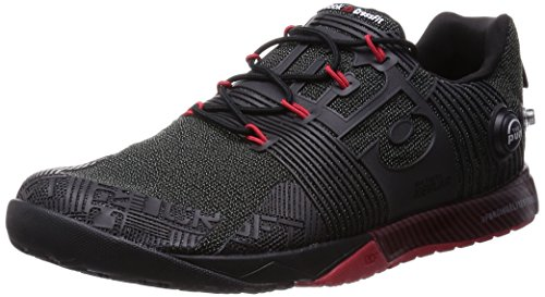 Reebok Rcf Nano Pump Fusion - black/excellent red, Größe:7