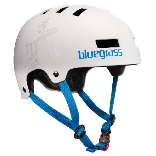 Bluegrass Dirt-Helm Super Bold Matt weiss Gr. L 60-62 cm