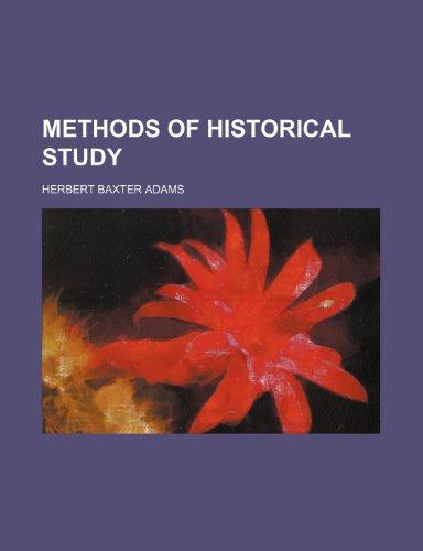 Methods of Historical Study