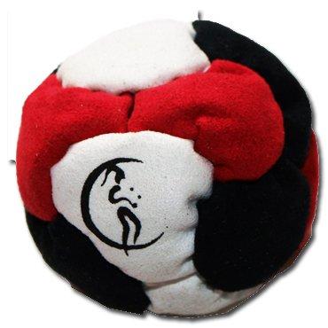 profi-footbag-6-paneelen-schwarz-rot-weiss-pro-freestyle-footbag-hacky-sack-fur-anfanger-und-profis-