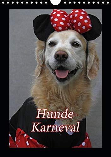 Hunde-Karneval (Wandkalender 2020 DIN A4 hoch): Zwei Hunde feiern Karneval (Monatskalender, 14 Seiten ) (CALVENDO - Comic Hunde Kostüm