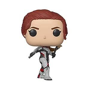 POP! Avengers End Game (Infinity War 2) - Black Widow in Team Suit Pop Bobble Head Figure