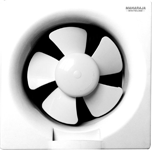 Maharaja Whiteline Opal 25 38-watt Ventilation Fan (white)
