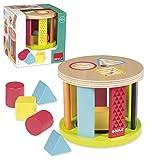 Goula Tambor, Juguete para bebé Color Azul, Rojo y Amarillo Diset 53455