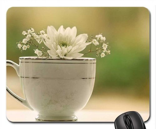 A Cup of Dream Mouse Pad, Mousepad (Flowers Mouse Pad) Dream Cup