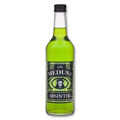 Medusa Absinthe 0,5l - Green Label - 55{3871e77916eac5a64c096e6de8f1450fe627bf417dcc323d4e6e26ff0556981e} Vol.
