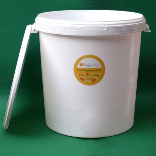 33 Litre Fermentation Vessel / Bucket / Bin + airlock by Bigger Jugs