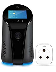 Qubo Smart Home Combo - AI Enabled Wi-Fi Smart Indoor Camera with Alexa Built-in Speaker and Smart Plug
