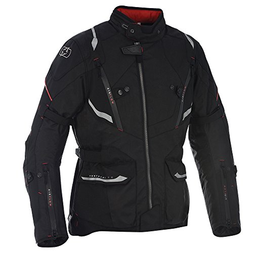 TM171201M - Oxford Montreal 3.0 Motorcycle Jacket M Tech Black (40)
