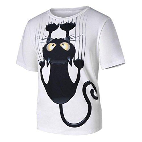 Herrenbekleidung & Zubehör Perle Weiß 100% Baumwolle Rundhals Sommer Skateboard Freizeit Komfortable T-shirt. FäHig 2018 Marke Neue Reine Farbe Paar T-shirt