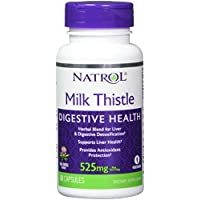 ‏‪Natrol Milk Thistle Advantage V-Caps, 525mg, 60 Count‬‏