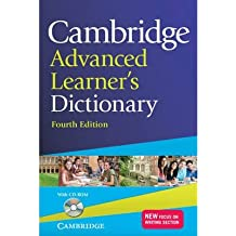 [(Cambridge Advanced Learner's Dictionary with CD-ROM)] [Author: IDM] published on (July, 2013)